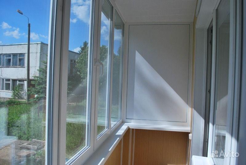 Балкон остекление пластик фото.