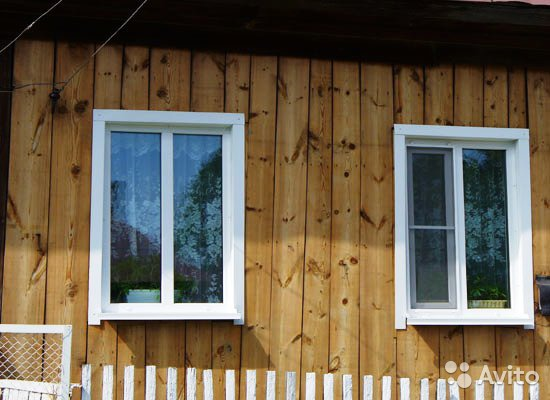Окна на даче фото