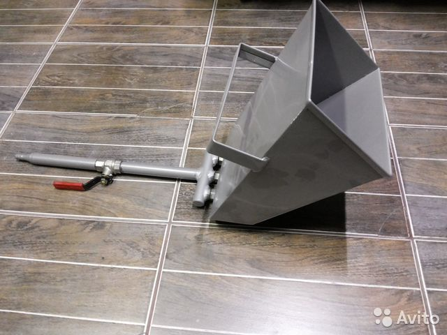 Хоппер ковш для штукатурки