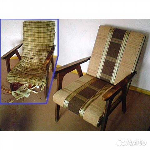 Перетяжка старого кресла своими руками пошагово
