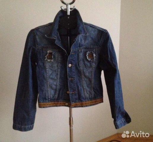 В продаже Джинсовая куртка Armani jeans по выгодной цене c комментариями по