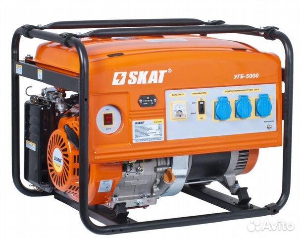 Бензиновые генераторы мощностью от 4 до 6 кВт