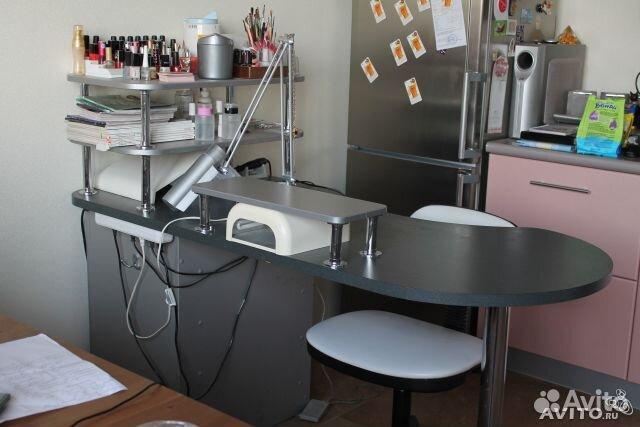 Рабочие столы для маникюра.