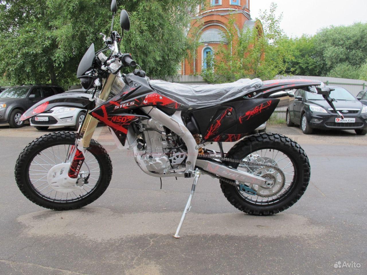 Мотоцикл стелс 450 Эндуро #5