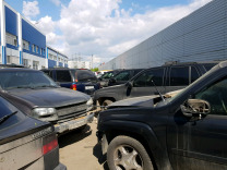 Chevrolet trailblazer в разборе