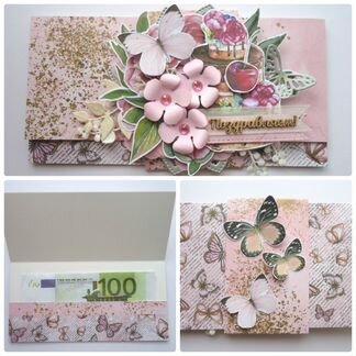 Подарочные конверты для денег объявление продам