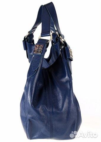Сумка женская из натуральной кожи синяя givenchy купить в Санкт ... e462149dd29