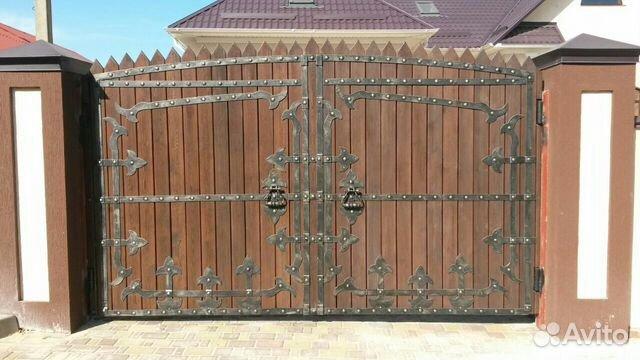 фасадные ворота цена