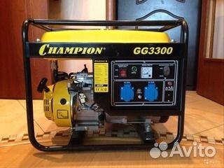 Продам генератор Champion GG3300