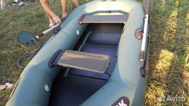 резиновая лодка bark 240