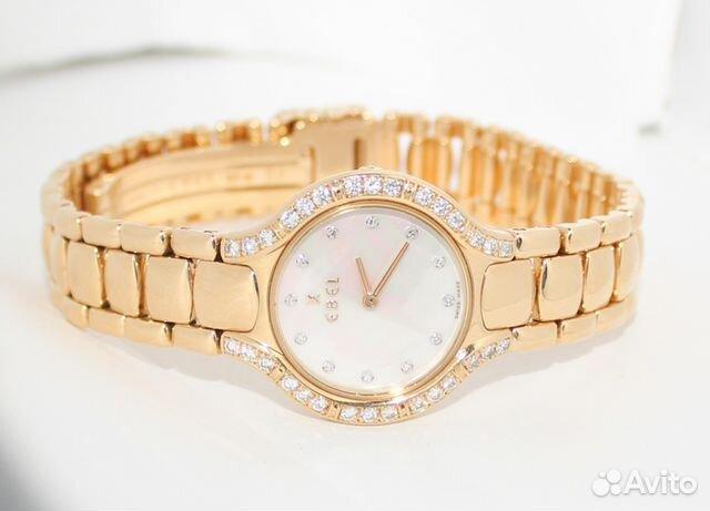 Золотые часы с бриллиантами Ebel б у сп купить в Краснодарском крае ... fb880dbe0ef