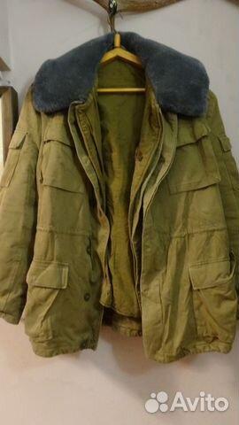 00019b2c392 Куртка афганка песочка-1988г