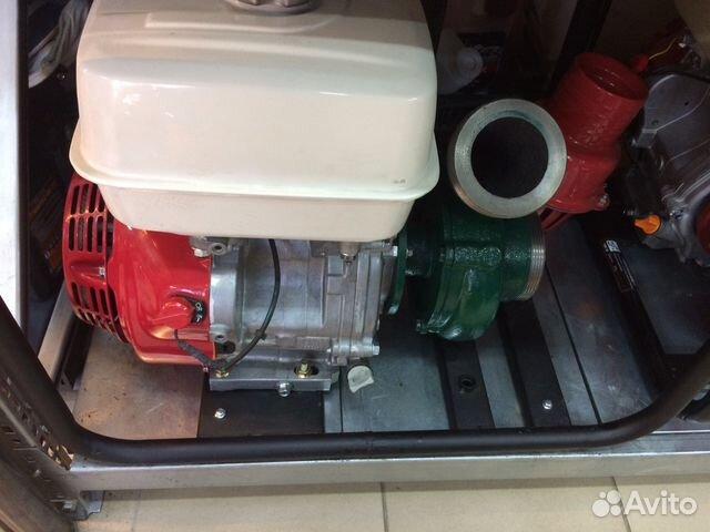 Мотопомпа Honda 40. Новая с гарантией. Двигатель H — фотография №1