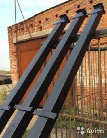 Столбы для забора томск каме для ворот