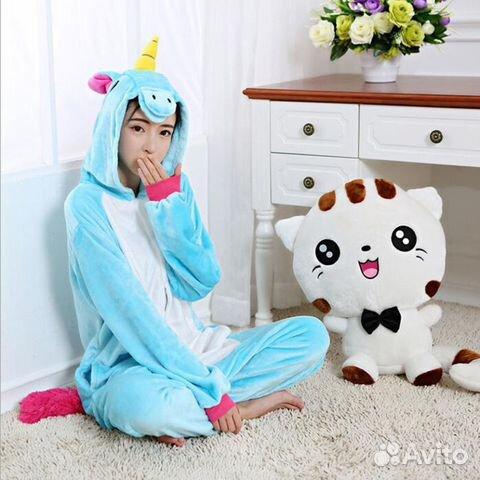 Пижама Кигуруми (kigurumi) Единорог Unicorn  001054283a691