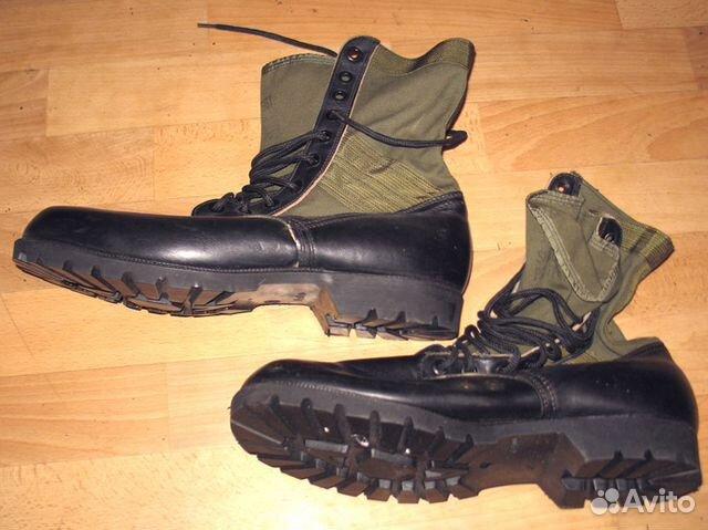 d0971c3cf Армейские ботинки США Jungle Boots (Вьетнам) 13XW | Festima.Ru ...