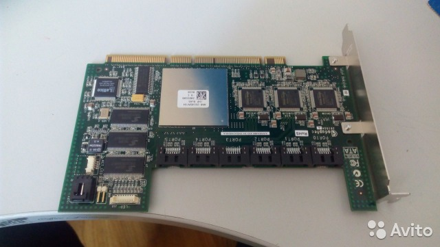 Raid controller Adaptec ASR-6805E | Festima Ru - Мониторинг объявлений