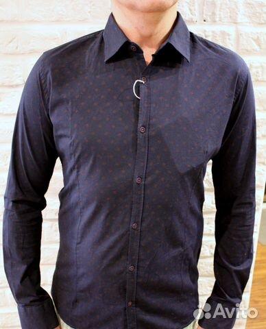 5e0fcb093ac Новая Мужская рубашка centoquattro Италия размер M