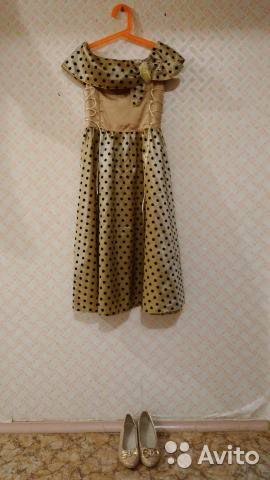 Продам праздничное платье и туфли 89615739957 купить 1