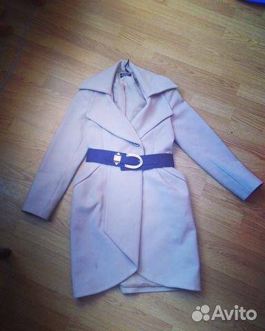 Демисезонное пальто на 46 89130094682 купить 1