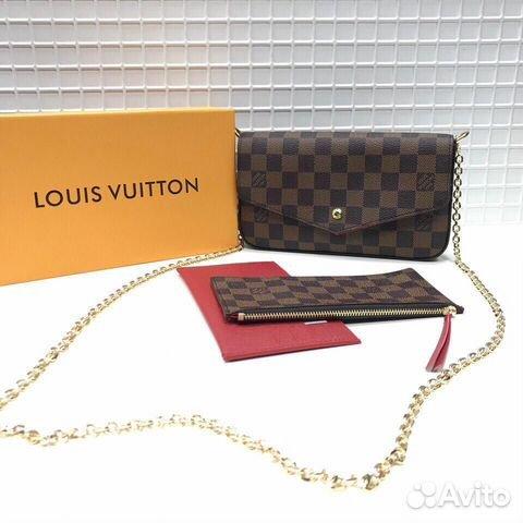 a6e4210c0c97 Сумка Louis Vuitton Felicie Chain wallet Луи Витто | Festima.Ru ...