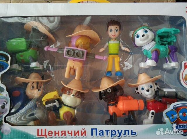 Щенячий патруль набор 8 героев новосибирск