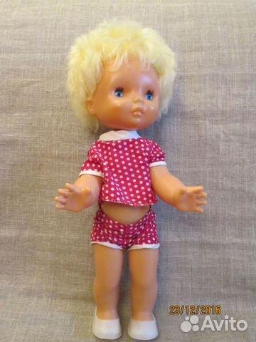 Кукла СССР,Антошка,Днепропетровск, 47 см,клеймо