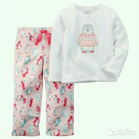 Флисовая пижама Картерс  54c0716580c8c