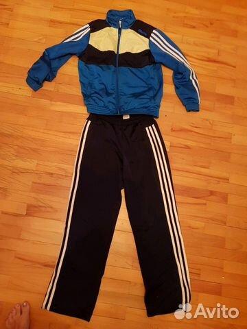 3d45570c Спортивный костюм на мальчика 13-14 лет. Adidas— фотография №1