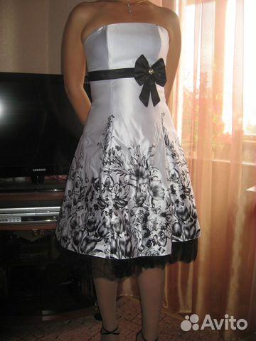 Купить вечернее платье на avito