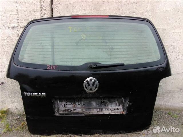 89026196331 Дверь багажника со стеклом Volkswagen Touran