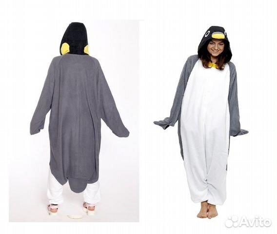 Кигуруми Пингвин костюм пижама  238fa444ce04b
