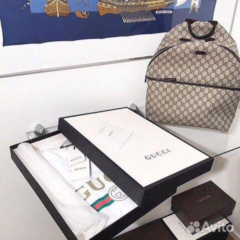 Футболка Gucci 2018 collection купить в Москве на Avito — Объявления ... cfcba9dcf33