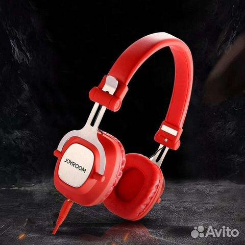 Беспроводные наушники накладные jr-bt149 Red купить в Новосибирской ... c39511fbb9473
