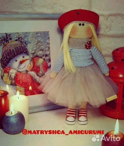 вязаная кукла тильда Festimaru мониторинг объявлений