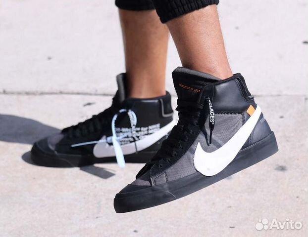 3a211a31 Кроссовки Nike Blazer Mid Off White купить в Москве на Avito ...