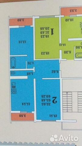 Продается двухкомнатная квартира за 3 350 000 рублей. Краснодар, улица Героев-Разведчиков, 19/2.
