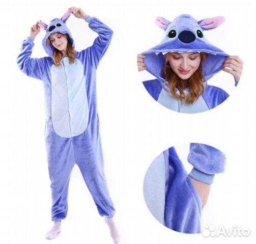 Пижама-Кигуруми Стич 4e3a4dc63cb2a