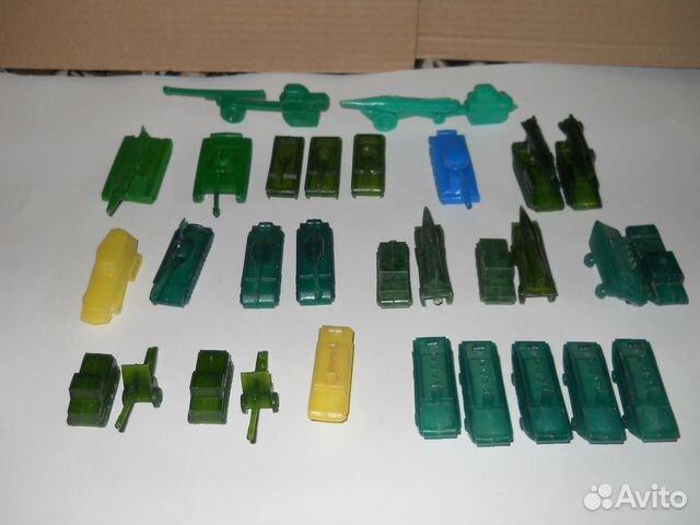 Пластиковая военная техника СССР