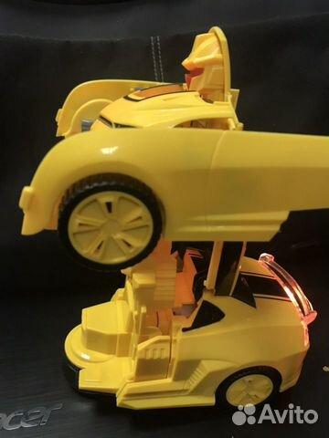 Бамблби Машинка-трансформер