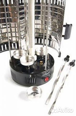84942303606 Электрошашлычница rolsen RG-1100
