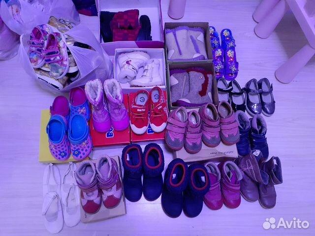 Обувь на девочку  купить 1