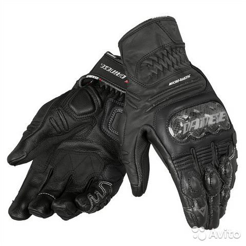 Dainese перчатки carbon cover S-ST 691 nero/nero/n— фотография №1