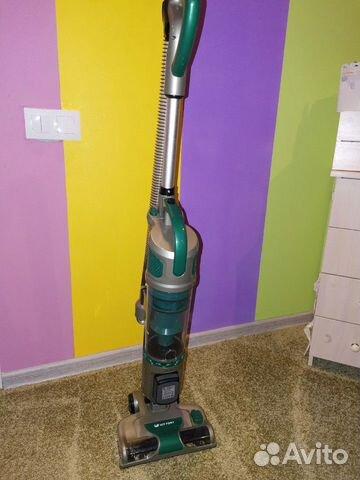 Пылесос вертикальный kitfort кт-521. Цвет: зеленый