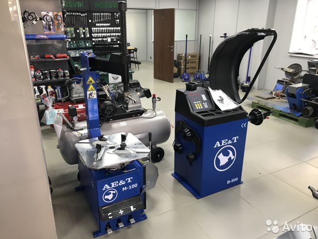 Комплект шиномонтажного оборудования AE&T 89536911143 купить 1