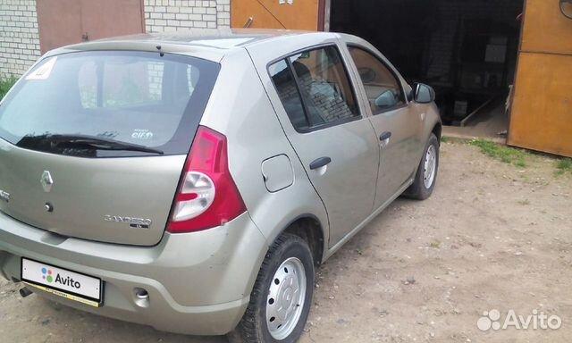 Renault Sandero, 2011 89157609472 купить 3