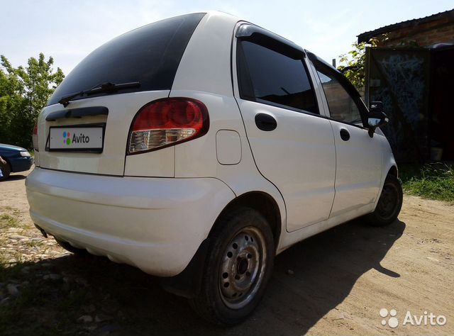 Daewoo Matiz, 2012 89203446927 купить 4