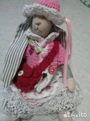 Кукла зайка (ручная работа)