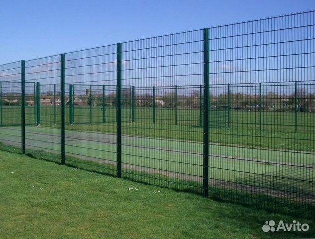 Забор из сварной сетки  купить 1