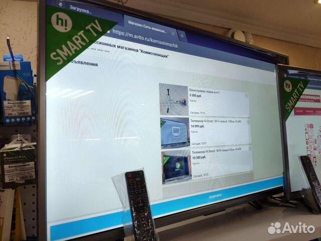 Новый телевизор HI 39 дюймов Смарт тв кгн02  89225782016 купить 1